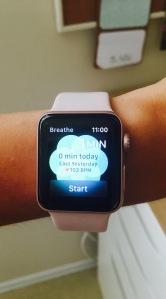 Breathe app- Apple Watch 2
